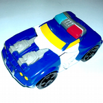 Transformers Rescue Bots Chase police car bot Playskool Heroes @sold@